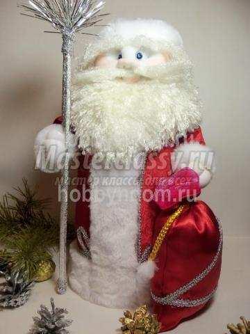 Дед мороз своими руками из бутылки мастер