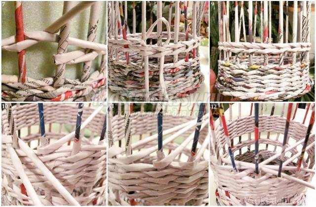 Плетение из газетных трубочек своими руками 361