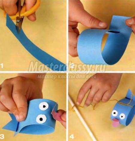 Сделать игрушку своими руками из цветной бумаги