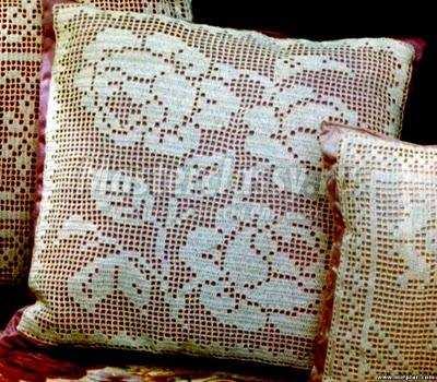 Схемы для вязания роз.