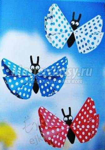 Сделать бабочку своими руками из бумаги оригами - Как сделать оригами танк из бумаги Оригами: поделки из