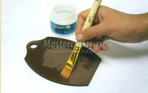 состаривание поверхности техника кракле мастер-класс
