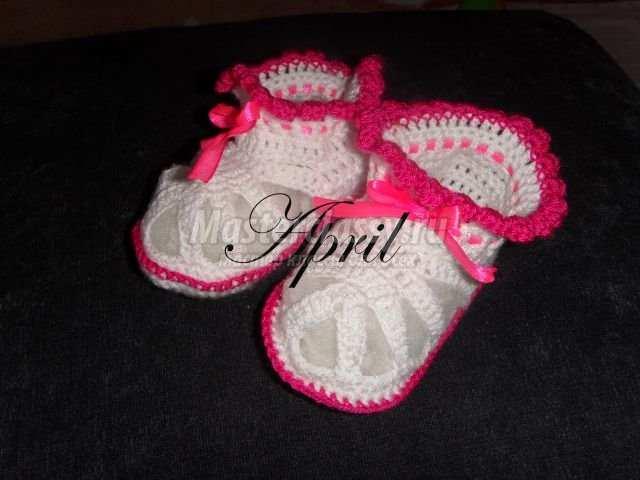 Пинетки-сандалики для девочки 6