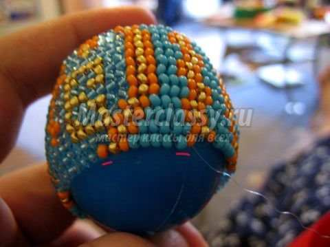 Введите свой e-mail адрес.  Вот, пожалуй, и всё.)Успеха вам в вашем творчестве и оплетении пасхальных яиц бисером!