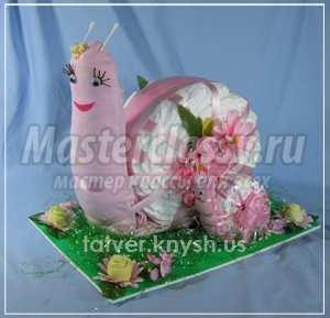 Подарки новорожденным из памперсов своими руками