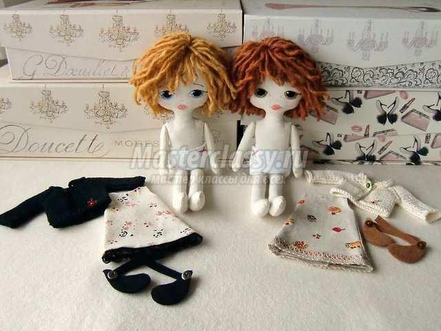 Кукла из ткани своими руками фото