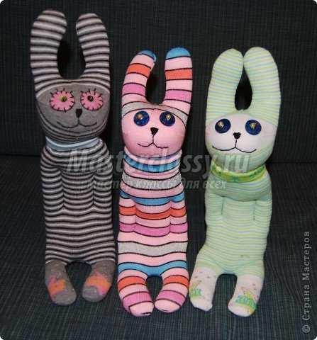 Изделия из носков своими руками