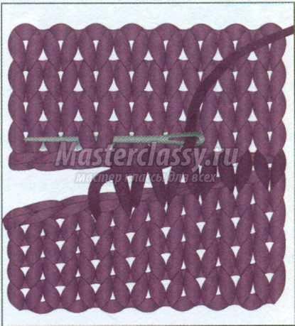 Вязание спицами горизонтальные узоры ажурные схемы