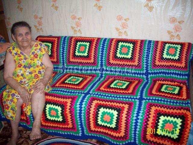 Вязание накидок на подушки 138