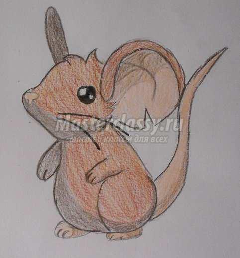 Фото как рисовать мышей
