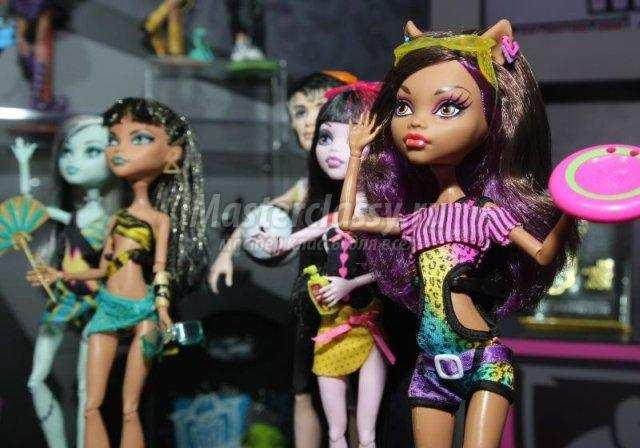 Куклы монстр хай видео