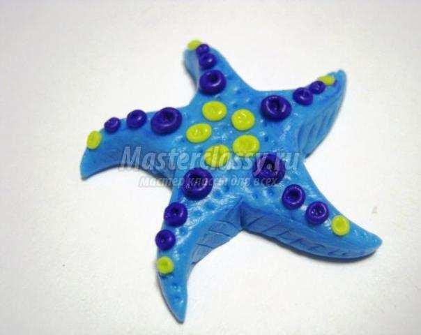 Морская звезда поделки