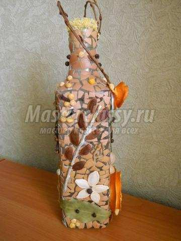 Поделки из природного материала и бутылок своими руками