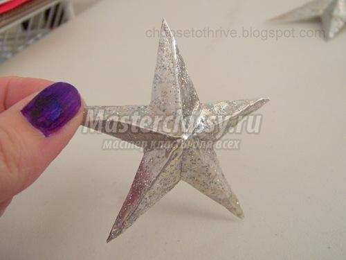 Сделать звезду из фольги своими руками