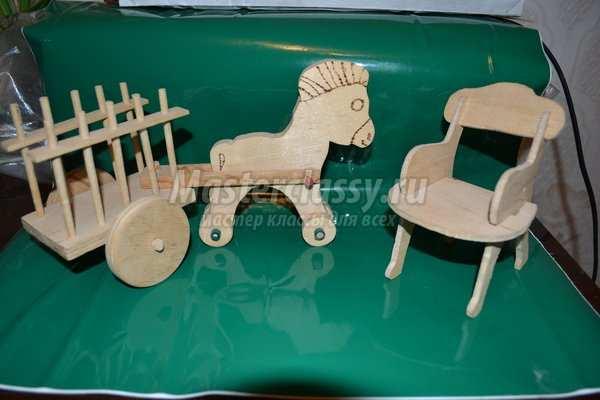 Деревянные игрушки своими руками мастер класс