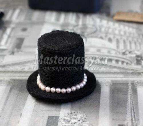 Шляпка на ободке своими руками фото