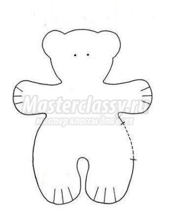 Медвежонок своими руками