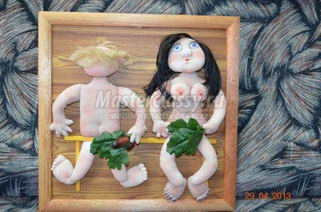 Панно из кукол своими руками 198