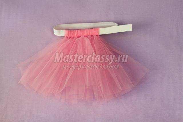 Как делать своими руками юбка из фатина